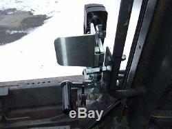 1/2 New Holland LS LX L series LEXAN door + Cab enclosure. Skid Steer loader