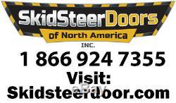 1/2 New holland LEXAN LS160 LS170 LS180 LS180 Door +cab sides loader skid steer