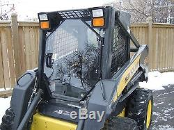 1/2 UNBREAKABLE DOOR plus sides LX565 to LX 885 NEW HOLLAND Skid steer loader