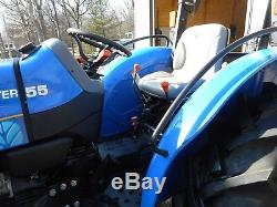1 Owner 2014 New Holland Workmaster 55 4x4+ Loader+ 89 Hrs- No Emmisions
