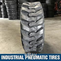 10-16.5 12pr Forerunner Skid Steer Loader Tires (4 Tires) 10x16.5 New Holland
