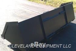 102 BULK MATERIAL BUCKET Snow Mulch Litter Skid-Steer Loader Bobcat New Holland