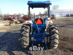 1993 New Holland 2120 Tractor, 4WD, NH7309 Loader, Hyd Shuttle, 40HP, 1 Remote