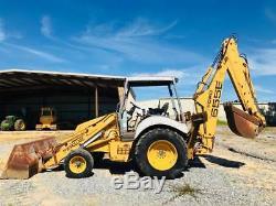 1997 New Holland 655E Loader Backhoe 1 Owner LOW HOURS OROPS 90HP Diesel