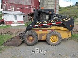 1998 New Holland LX885 Skid Steer Loader