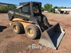 1998 New Holland LX885 Skid Steer Loader with 2 Speed Cheap