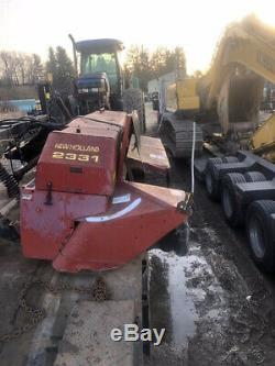 1998 New Holland TV140 4x4 Bi Directional Tractor with Loader & NH 2331 Disc Mower
