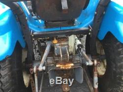 1999 New Holland 1925 4x4 Compact Tractor with Loader NEEDS WORK READ DESCRIPTION