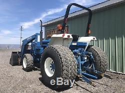 1999 New Holland 2120 4x4 Diesel Compact Tractor Loader 40hp Cheap Shipping