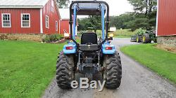 2000 NEW HOLLAND TC29 4X4 COMPACT UTILITY TRACTOR With LOADER 29 HP DIESEL HYDRO