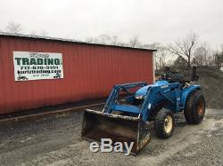 2000 New Holland TC29 4x4 Hydro Compact Tractor with Loader Only 1300 Hours