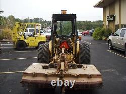 2000 New Holland Tractor With Loader And Mower #4652 2,755 Hrs