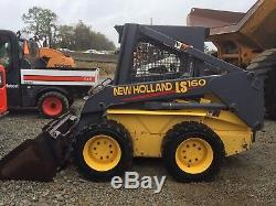 2001 Ls160 Skid Steer Loader Skidloader Diesel. Low Hours! Cheap Shipping Rates