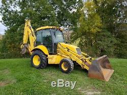 2001 New Holland LB75B Backhoe Loader Extenda-Hoe 4x4 Diesel Engine Machinery