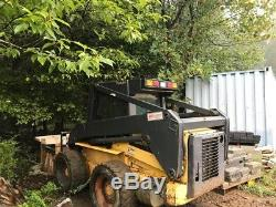 2001 New Holland LS180 Skid Steer Loader with Cab & Weight Kit Coming Soon