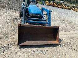 2001 New Holland TC21D 4x4 Hydro 21hp Compact Tractor with Loader NEEDS WORK