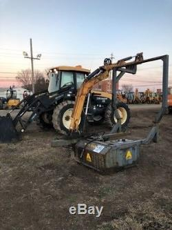 2001 New Holland TV140 4x4 Tractor with Cab Loader 3Pt & PTO with Loader & Mower