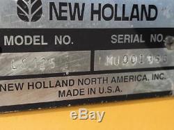 2002 New Holland LS125 Skid Steer Loader