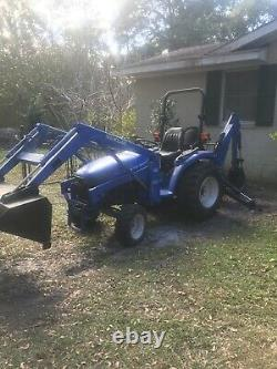 2002 New Holland TC29 Diesel Tractor With Loader And Backhoe