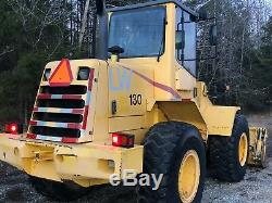 2003 NEW HOLLAND LW 130 WHEEL LOADER 4 in 1 CLAM BUCKET WITH QUICK ATTACH BUCKET