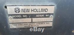 2003 New Holland LS180 Skid Loader