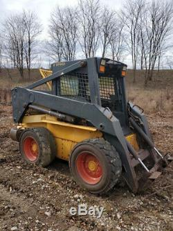 2003 New Holland LS190 Skid Steer Loader with 2 Speed Only 700 Hours
