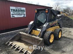 2004 New Holland LS170 Skid Steer Loader with Cab Clean One Owner Only 1800Hrs
