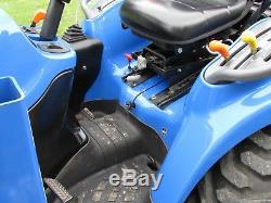2004 New Holland TC33D 4x4 Tractor and Loader, Hydro Trans, Diesel, Low Hours