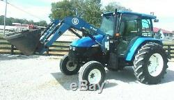 2004 New Holland TL 90 Tractor-Loader-Delivery @ $1.85 per loaded mile