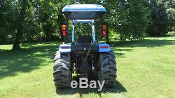2005 NEW HOLLAND TC35DA 4X4 COMPACT UTILITY TRACTOR With LOADER 35 HP DIESEL HYDRO