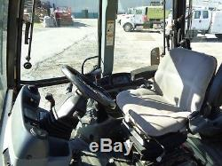 2005 New Holland LB75B Backhoe Loader Enclosed Cab 4x4