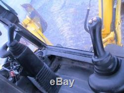 2005 New Holland LB90B Tractor Loader Backhoe, Cab, 4WD, Extendahoe, 5503 Hours