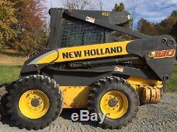 2006 New Holland L180 Skid Steer Loader Enclosed Heat And Ac Great To Plow Snow