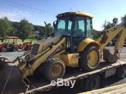 2006 New Holland LB110. B 4x4 Tractor Loader Backhoe with Cab Extend-A-Hoe 4000Hrs
