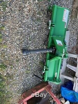 2006 New Holland TC30 4x4 hydrostatic loader tractor and new attachments