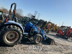 2006 New Holland TC45A 4x4 45Hp Compact Tractor with Loader & Mower 1200Hrs