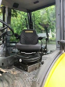 2007 NEW HOLLAND B95 TURBO BACKHOE LOADER with EXTENDAHOE and HYDRAULIC THUMP