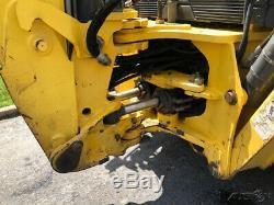 2007 New Holland B95 Backhoe Loader Extend-a-Hoe Cab Diesel Tractor