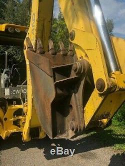 2007 New Holland TB75 4X4 Loader Backhoe