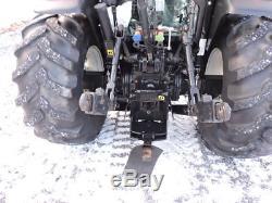 2007 New Holland TN60DA Tractor Loader Diesel Farm Cab Heat Air Radio 3 Point