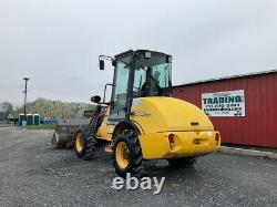 2008 New Holland LW50TC 4x4 Compact Wheel Loader with Cab Coupler Bucket& Forks