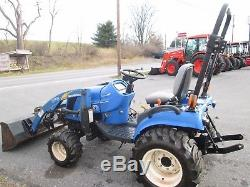 2008 New Holland T1110 HST 4x4 diesel with loader HST PTO used compact 1020 hrs