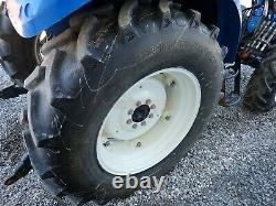 2011 NEW HOLLAND POWERSTAR T4.75 TRACTOR With LOADER, CAB, HEAT/AC, 4X4, 850 HOURS