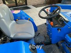 2012 NEW HOLLAND T1510 COMPACT TRACTOR With LOADER 30 HP GEAR DRIVE 4X4 1133 HRS