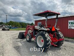 2012 New Holland Boomer 8N 4x4 50Hp Compact Tractor with Loader CVT Only 55Hrs