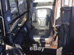 2012 New Holland L220 Skid Steer Loader with Cab Heat A/C 2 Speed