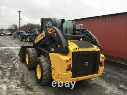 2012 New Holland L225 Skid Steer Loader with Cab Super Clean Only 1100 Hours