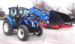 2013- NH T4.75 Cab 4x4 & Loader Low Hrs. Ships @ $1.85 per loaded mile