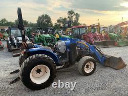 2013 New Holland Boomer 40 4x4 Hydro 40Hp Compact Tractor with Loader