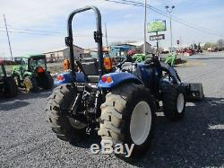 2013 New Holland Boomer 47 Loader Tractor